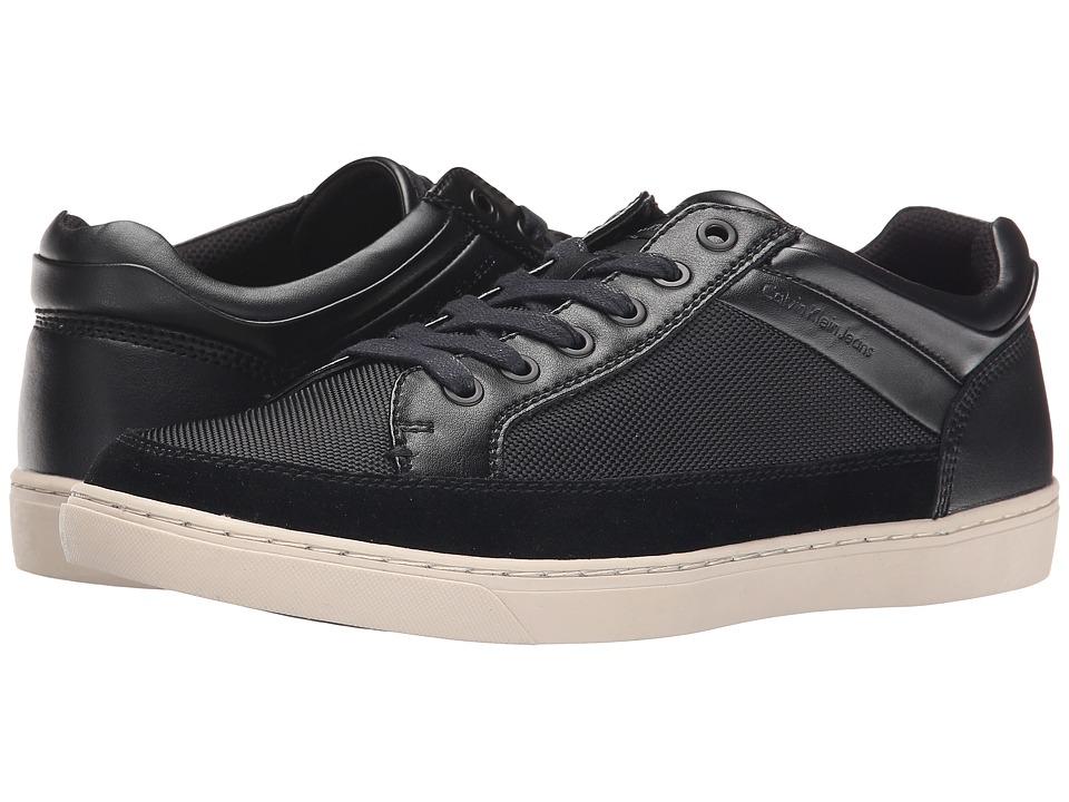 Calvin Klein Jeans - Zal (Black Suede/Smooth) Men's Shoes