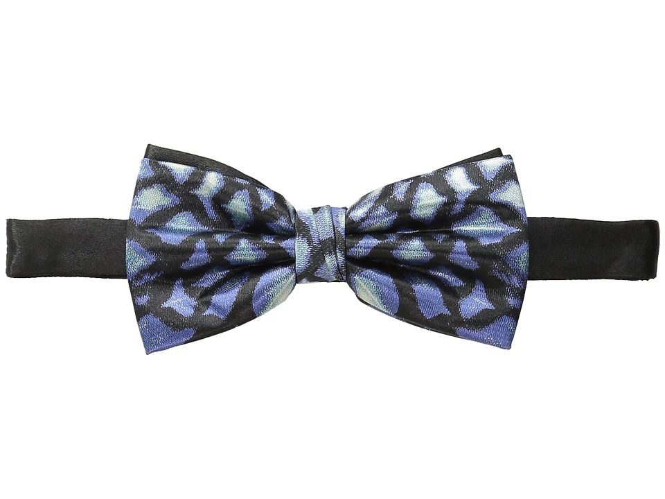 Scotch & Soda - Satin Weave Bowtie (Blue/Black) Ties