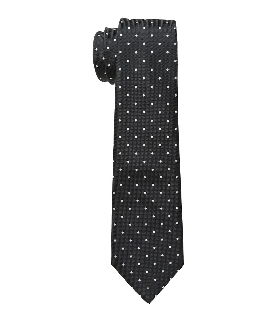 Scotch & Soda - Satin Weave Gentlemen's Tie (Black) Ties