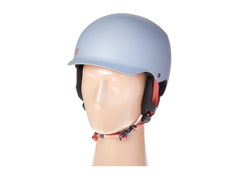 Bern - Team Baker EPS (Matte Grey/Earflaps) Snow/Ski/Adventure Helmet