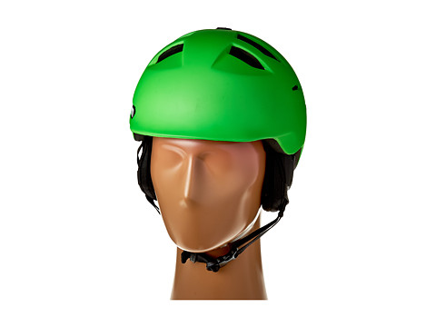 Bern - Kingston (Matte Neon Green/Black Liner) Snow/Ski/Adventure Helmet