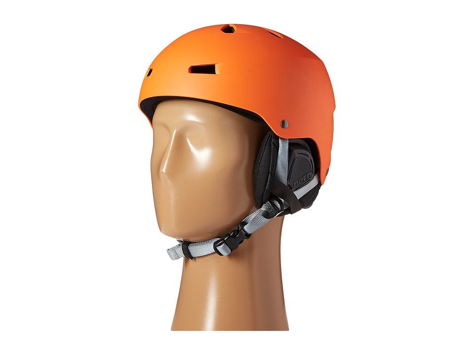 Bern - Macon EPS (Matte Orange/Black Liner) Snow/Ski/Adventure Helmet