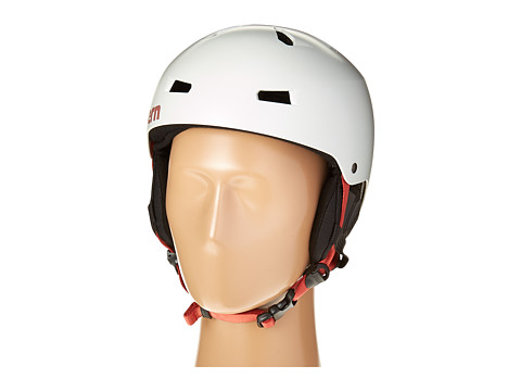Bern - Macon EPS (Satin Light Grey/Black Liner) Snow/Ski/Adventure Helmet