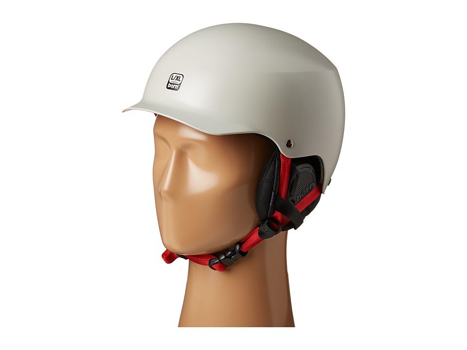 Image of Bern - Baker EPS (Satin Light Grey/Black Liner) Snow/Ski/Adventure Helmet