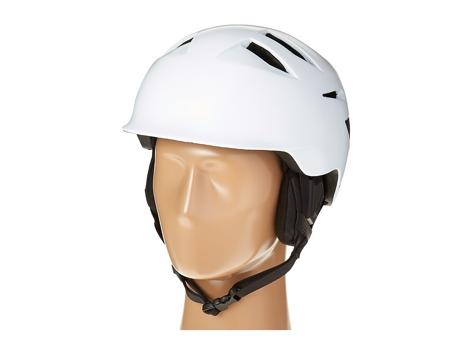 Bern - Rollins (Satin White/Black Liner) Snow/Ski/Adventure Helmet
