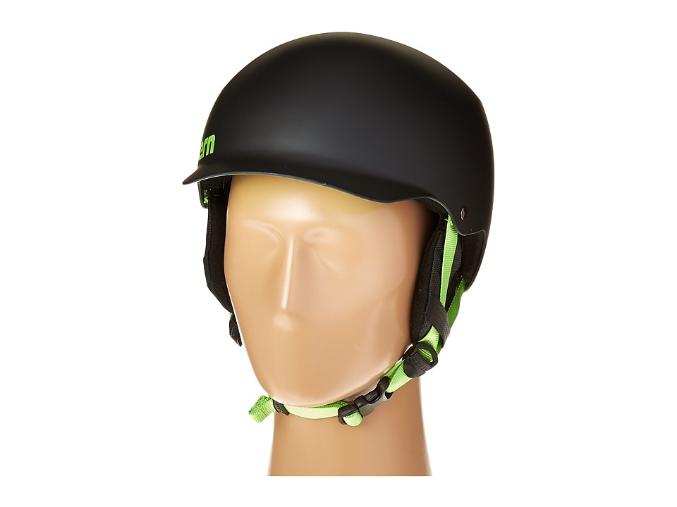 Bern - Team Baker EPS (Matte Black/Earflaps) Snow/Ski/Adventure Helmet