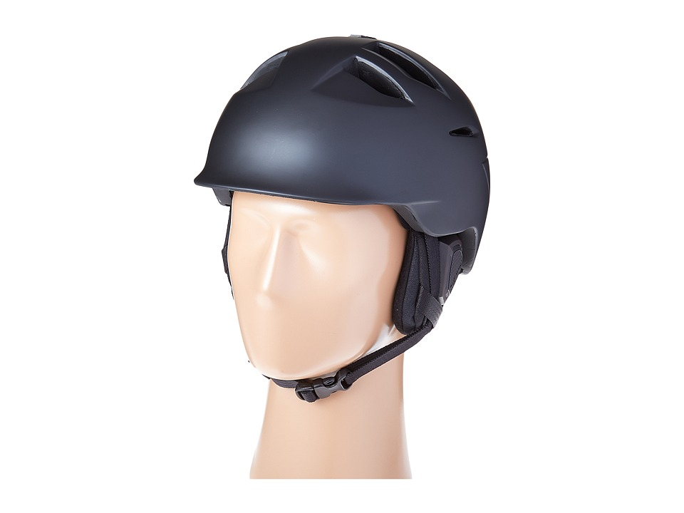 Bern - Kingston (Matte Black/Black Liner) Snow/Ski/Adventure Helmet
