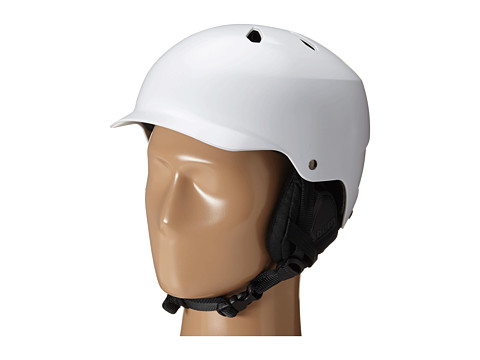 Bern - Watts EPS (Satin White/Black Liner) Snow/Ski/Adventure Helmet