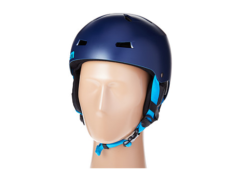 Bern - Macon EPS (Satin Navy Blue/Black Liner) Snow/Ski/Adventure Helmet