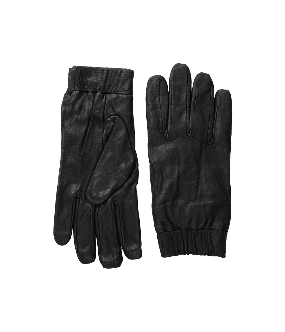 Scotch & Soda - Glove in Suede and Leather Quality (Graphite) Extreme Cold Weather Gloves