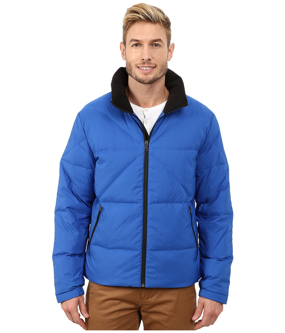Nautica - Solid Down Quilted Jacket (Crest Blue) Men