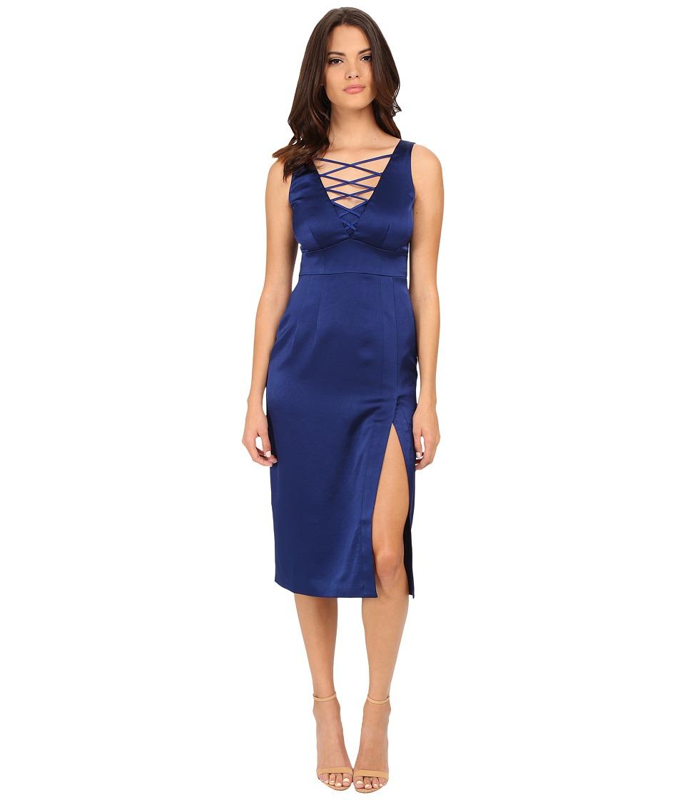 Nanette Lepore - Entwined Sheath Dress (Cobalt) Women's Dress