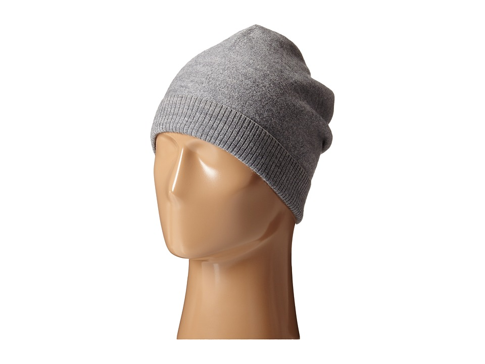 Scotch & Soda - Beanie in Felted Wool (Graphite Melange) Beanies