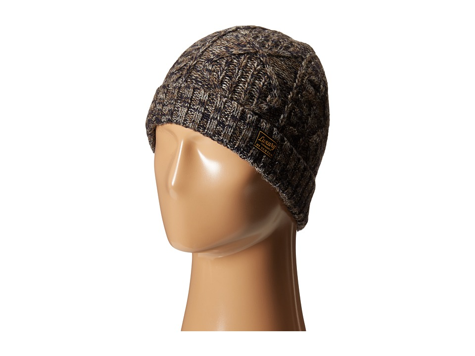 Scotch & Soda - Cable Knitted Beanie (Brown) Beanies