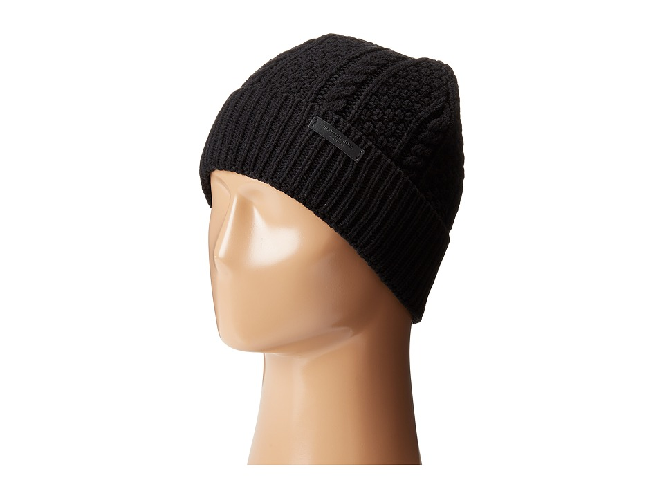 Scotch & Soda - Knitted Beanie (Black) Beanies