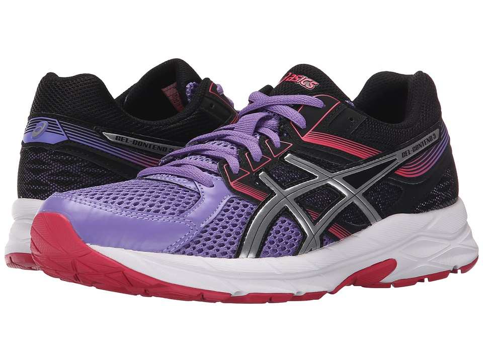 ASICS - GEL-Contend 3 (Iris/Silver/Black) Women's Running Shoes