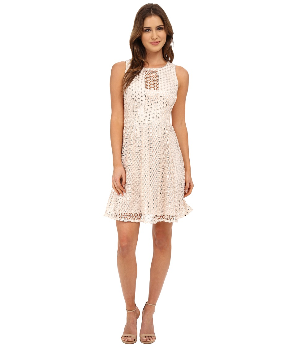 Nanette Lepore Shimmer Shine Dress (Ivory) Women