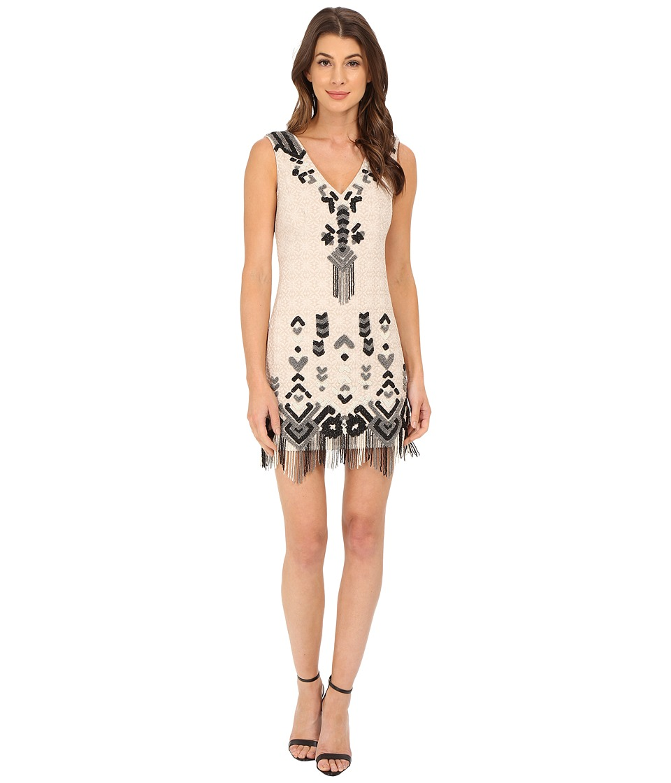 Nanette Lepore - Let's Boogie Dress (Buff) Women's Dress