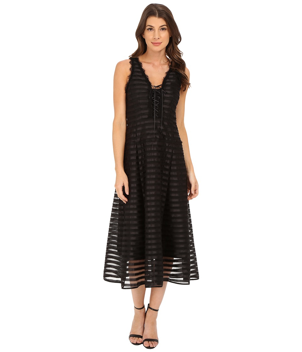 Nanette Lepore - Fever Dress (Black) Women's Dress