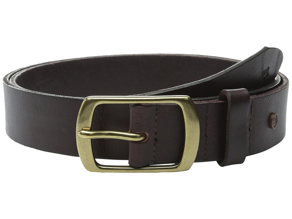 Scotch & Soda - Classic Clean Leather Belt (Brown) Men's Belts