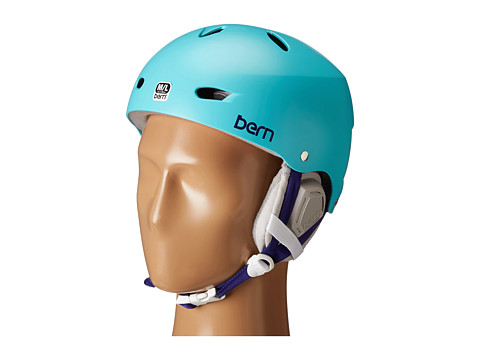 Bern - Brighton EPS (Satin Seafoam Green/Grey Liner) Snow/Ski/Adventure Helmet