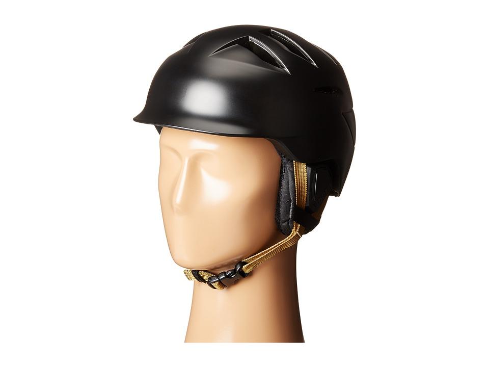 Bern - Hepburn (Satin Black/Black Liner) Snow/Ski/Adventure Helmet