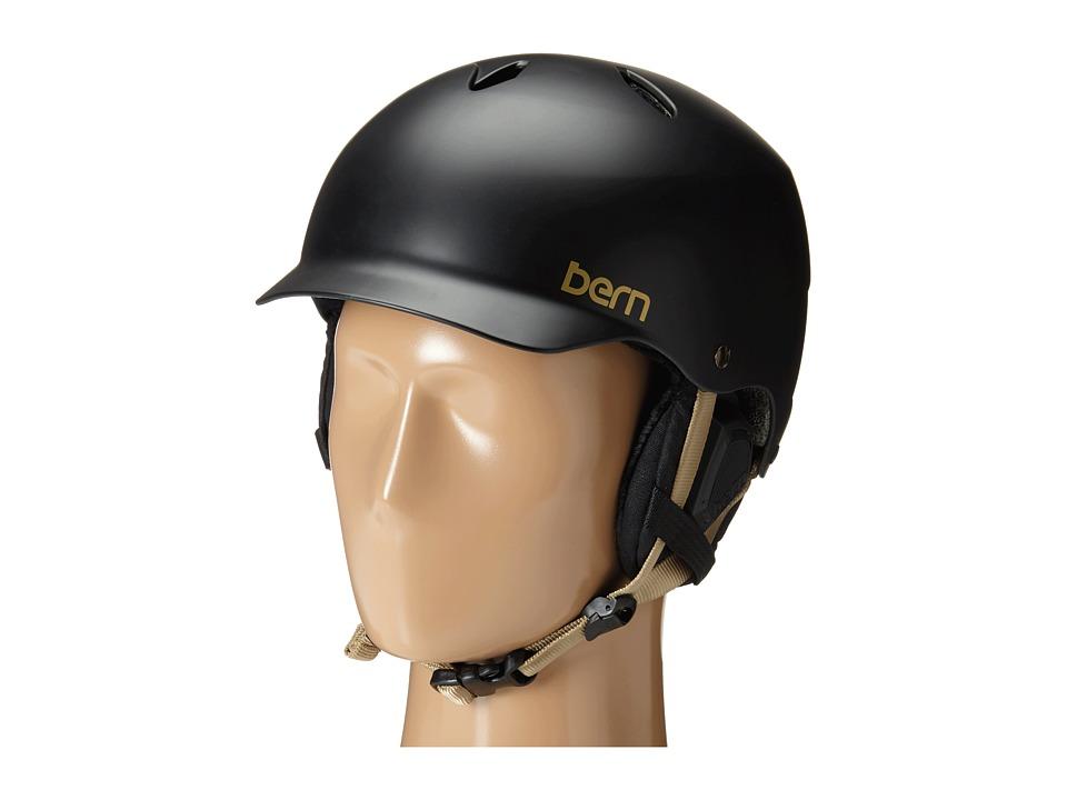 Bern - Lenox EPS (Satin Black/Black Liner) Snow/Ski/Adventure Helmet