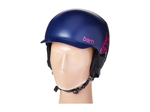 Bern - Muse EPS (Satin Navy Geo Graphic/Black Liner) Snow/Ski/Adventure Helmet