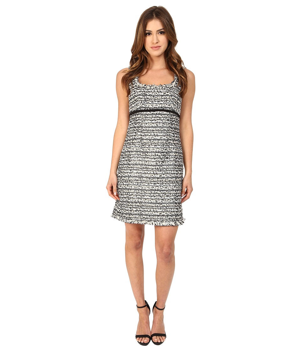 Nanette Lepore Soiree Shift Dress (Black/Ivory) Women