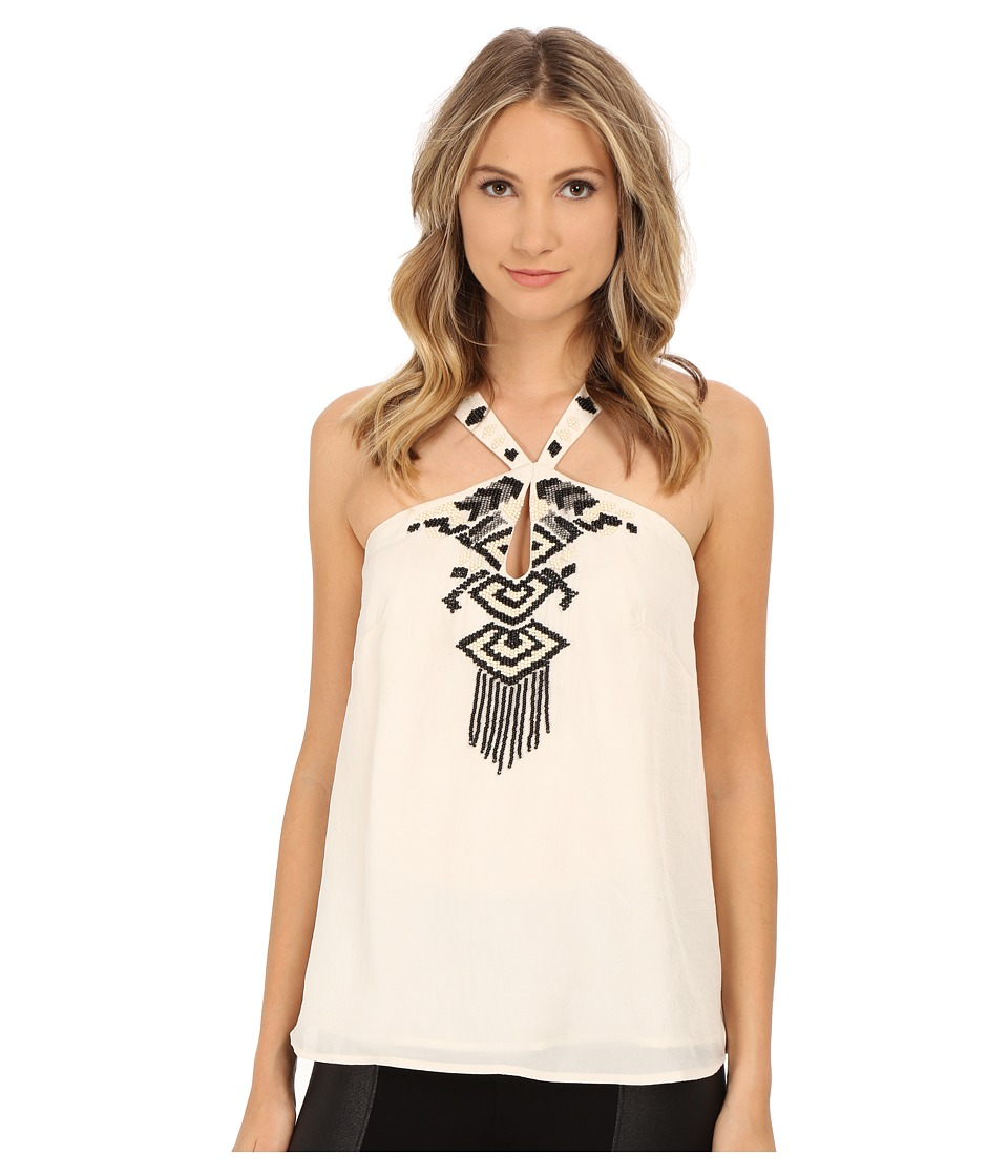 Nanette Lepore - Disco Fever Tank Top (Ivory) Women's Sleeveless