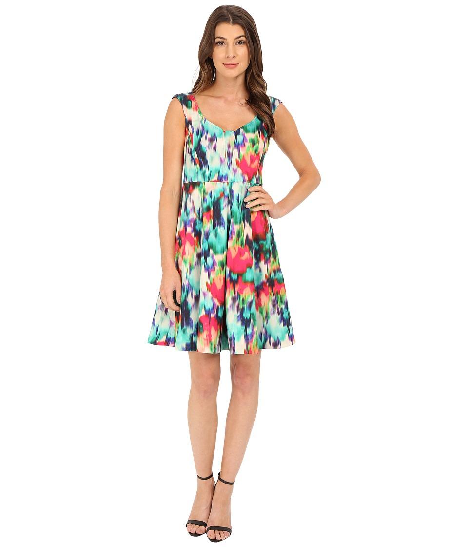 Nanette Lepore - Cocktail Frock Dress (Multi) Women's Dress