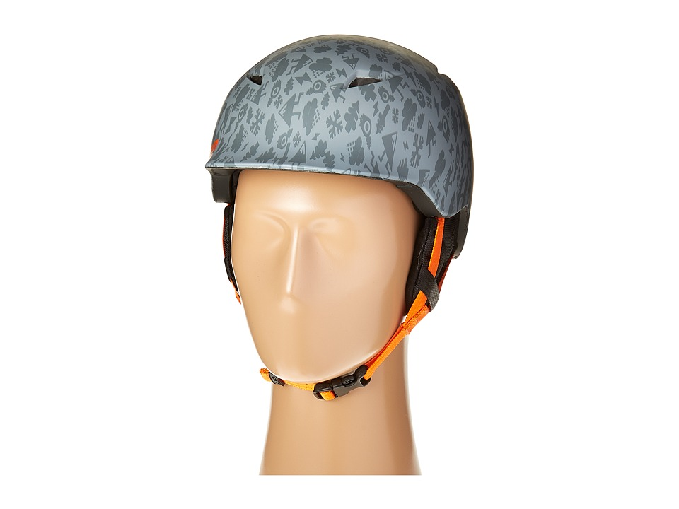 Bern - Camino (Matte Grey Feature Creature/Black Liner) Snow/Ski/Adventure Helmet