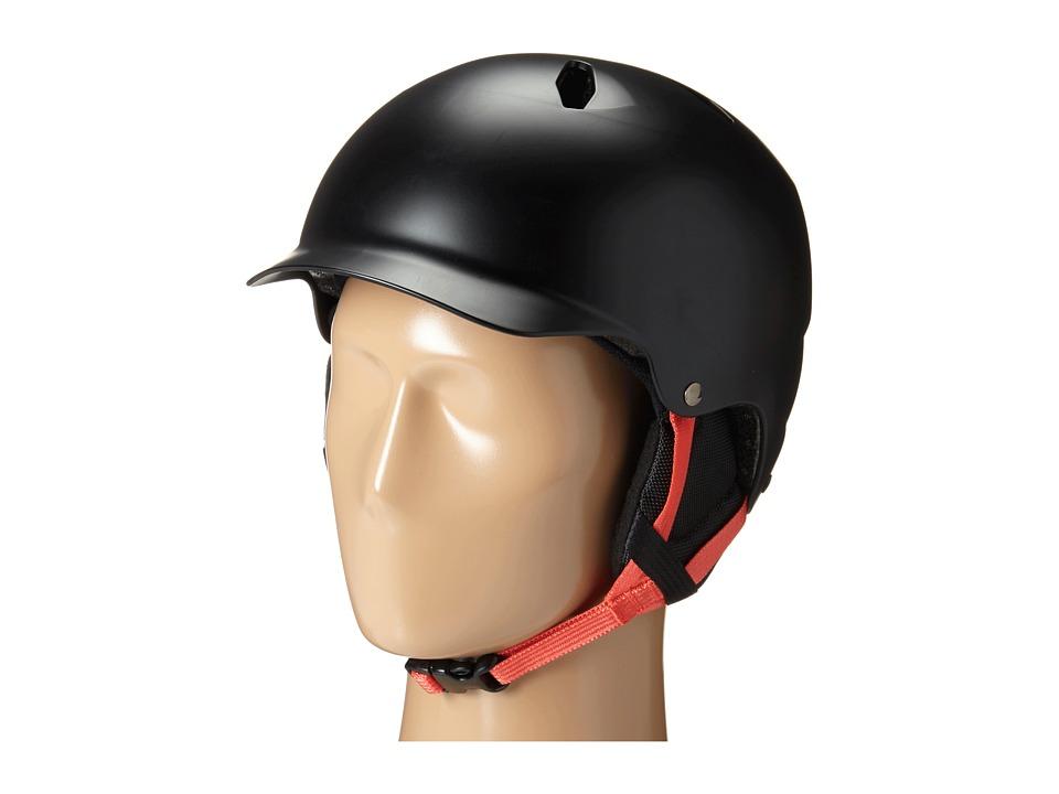 Bern - Bandito (Satin Black Baseball/Black Liner) Snow/Ski/Adventure Helmet