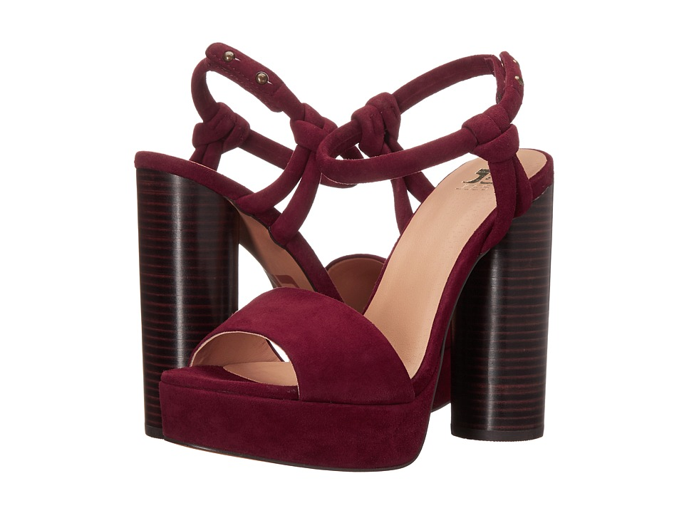 Joe's Jeans - Hampton (Burgundy) High Heels