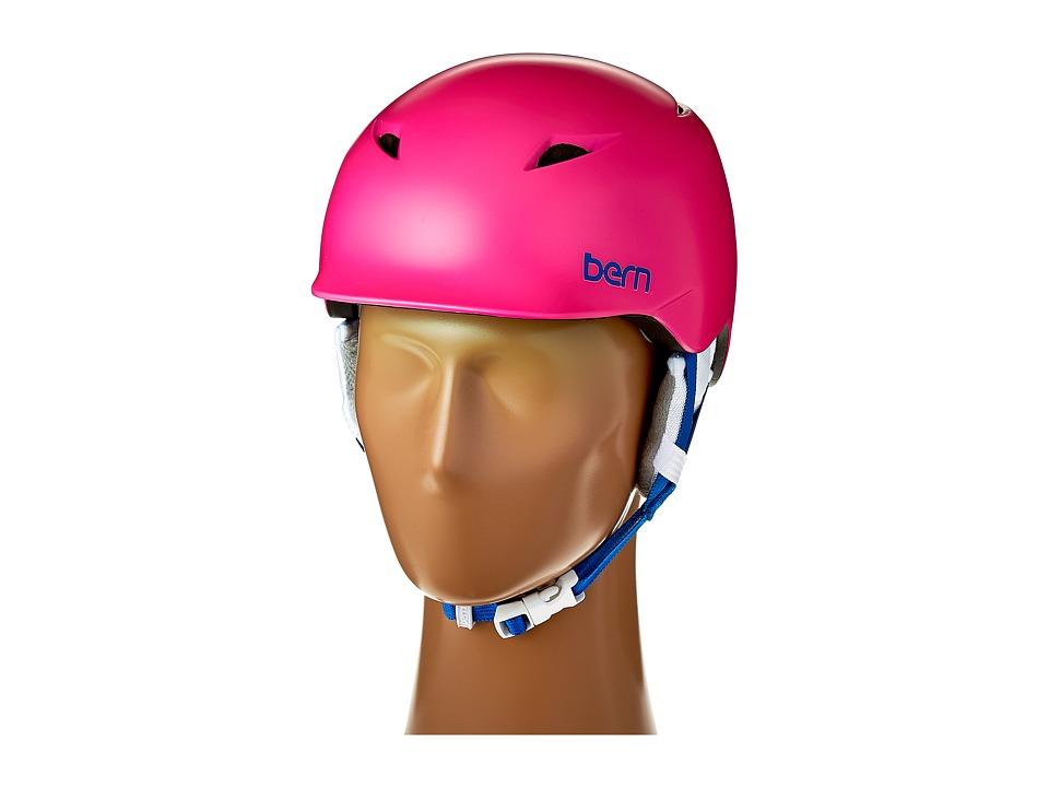 Bern - Camina (Satin Pink/White Liner) Snow/Ski/Adventure Helmet