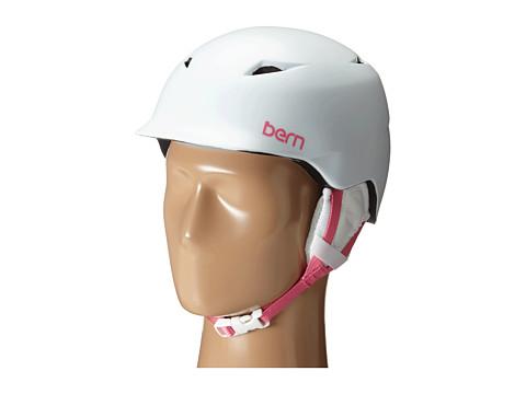 Bern - Camina (Satin White/White Liner) Snow/Ski/Adventure Helmet