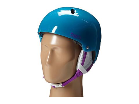 Bern - Diabla EPS (Translucent Light Blue/White Liner) Snow/Ski/Adventure Helmet