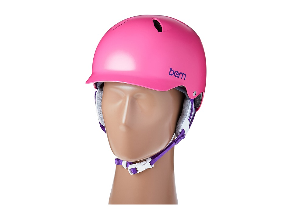 Image of Bern - Bandita (Satin Pink/White Liner) Snow/Ski/Adventure Helmet