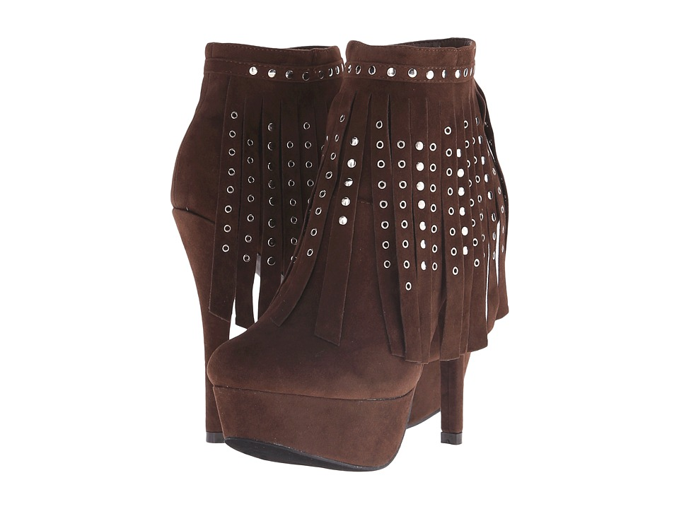 C Label - Dainty - 28 (Dark Brown) High Heels