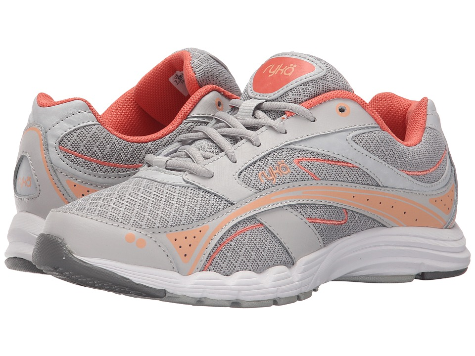 Ryka - Glide Walk (Grey/Coral) Women