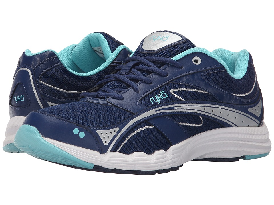Ryka - Glide Walk (Navy/Silver) Women