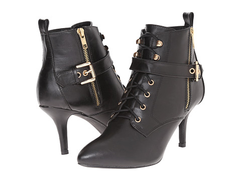 C Label - Natalie - 10 (Black) Women's Lace-up Boots