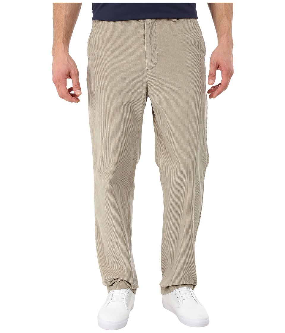 Nautica - 8 Wale Cord Deck Pants (Flagstone) Men's Casual Pants