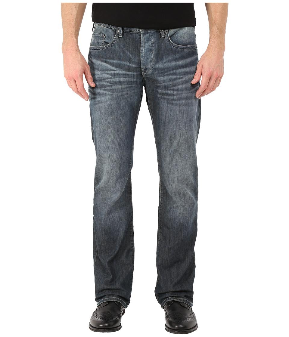 Buffalo David Bitton - King Slim Bootcut Jeans Ventura in Distress Wash (Distress Wash) Men's Jeans