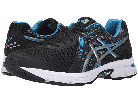 ASICS - GEL - Impression 8 (Black/Silver/Methyl Blue) Men's Shoes