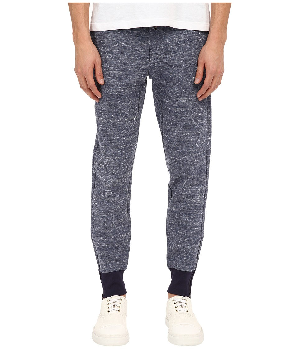 Vince - Double Face Track Pants (Heather Coastal) Men's Casual Pants