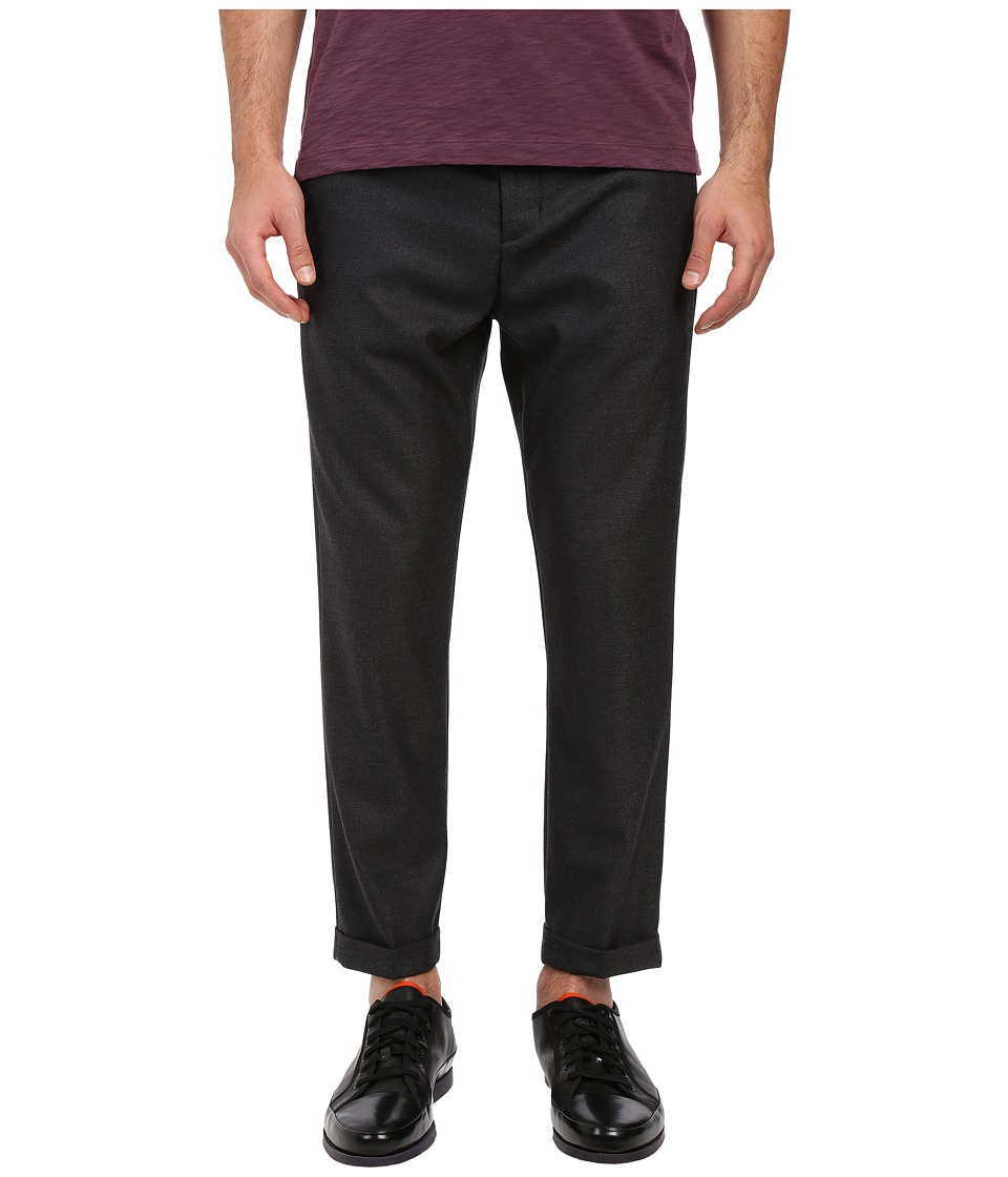 Vince - City Cropped Chino Pants (Pewter) Men's Casual Pants