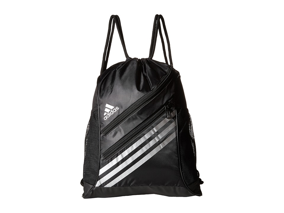 adidas - Strength Sackpack (Black/Silver) Bags