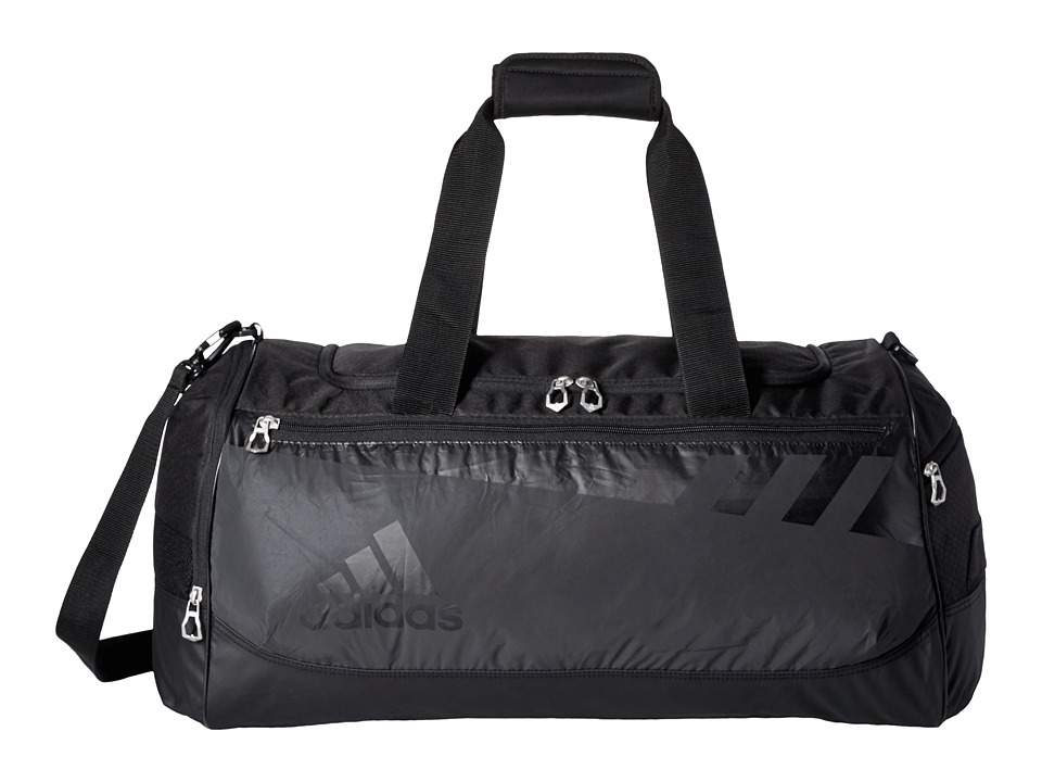adidas - Team Issue Medium Reflective Duffel (Black Reflective) Duffel Bags
