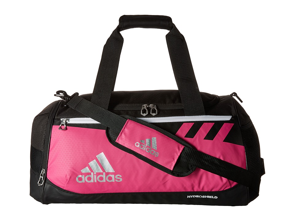 adidas - Team Issue Medium Duffel (Intense Pink) Duffel Bags